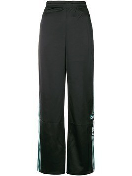 Adidas side logo track trousers - Black