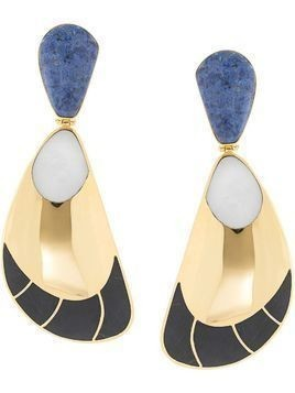 Monica Sordo Garzon clip earrings - GOLD