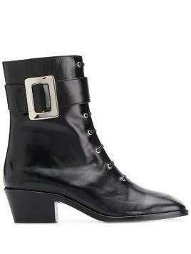 Dorateymur buckle-detail ankle boots - Black
