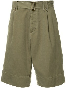JW Anderson washed belted short - Green