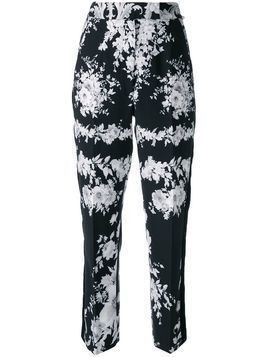 Ingie Paris floral tailored trousers - Black