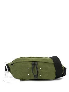 Maison Margiela stitch detailed belt bag - Green