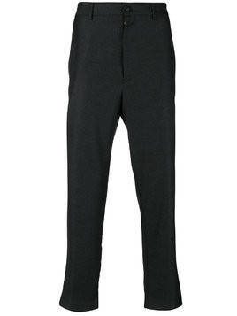 Mauro Grifoni tailored fitted trousers - Grey