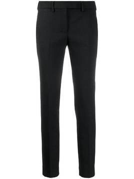 Incotex slim-fit tailored trousers - Black