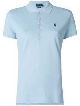 Polo Ralph Lauren logo patch polo shirt - Blue