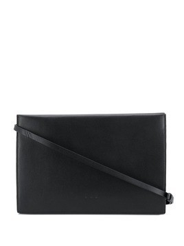 Aesther Ekme snap shoulder bag - Black