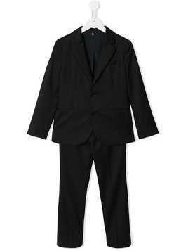 Emporio Armani Kids straight fit suit - Blue
