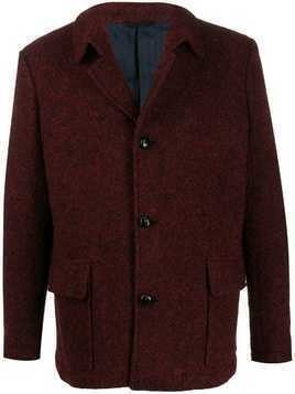 MP Massimo Piombo patch pocket coat - Red