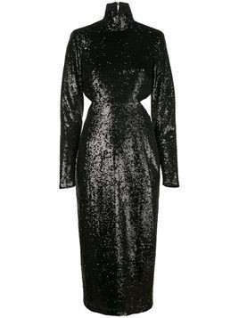 Cinq A Sept Daniela sequin dress - Black