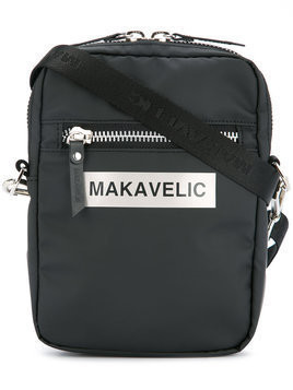 Makavelic - Ludus box logo pouch bag - unisex - Polyester - One Size - Black