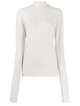 Haider Ackermann fine knit roll neck - Neutrals