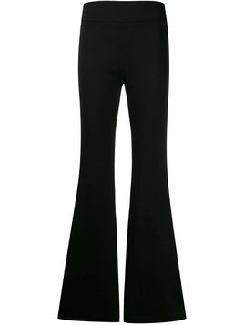 Galvan flared trousers - Black