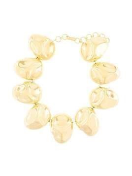 Monica Sordo Cubagua pebble choker - GOLD