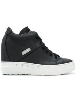 Rucoline concealed wedge sneakers - Black
