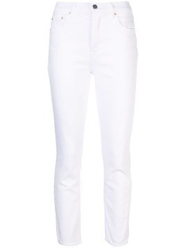 Grlfrnd slim fit jeans - White