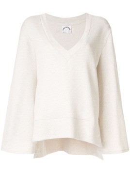 The Upside wide sleeve jumper - NEUTRALS
