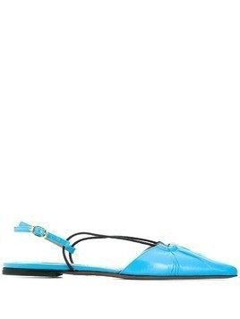 L'Autre Chose slingback ballerina shoes - Blue