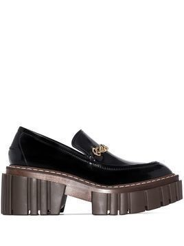 Stella McCartney chunky 40mm slip-on loafers - Black