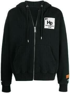 Heron Preston Herons Halo zip hoodie - Black