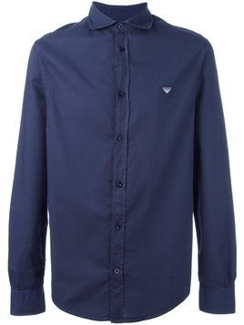 Armani Jeans plain shirt - Blue