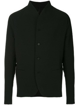 Masnada raw trim jacket - Black