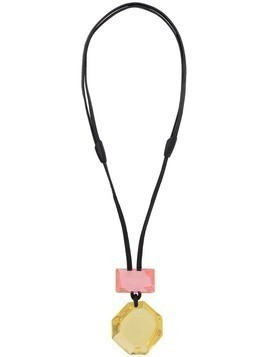 Monies Madison pendant necklace - Yellow