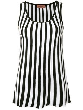 Missoni striped tank-top - Black