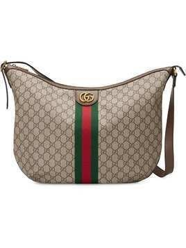 044502e597a1a Gucci Ophidia GG shoulder bag - Brown
