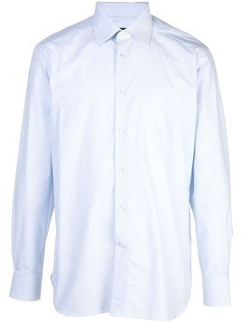 Ermenegildo Zegna plain button shirt - Blue