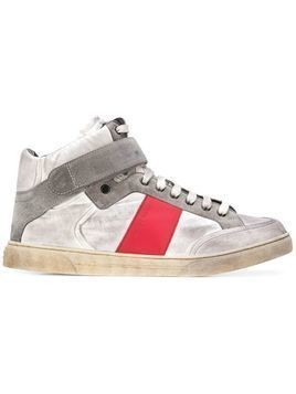 Saint Laurent touch-strap sneakers - Grey