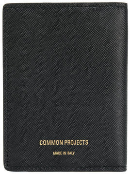 Common Projects - fold out wallet - Herren - Calf Leather - One Size - Black