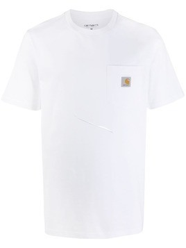 Carhartt WIP logo pocket T-shirt - White