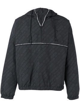 Adidas Originals By Alexander Wang - windbreaker jacket - unisex - Polyamide/Polyester - L - Black