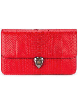 Alexander McQueen - Heart clutch - Damen - Leather - One Size - Red