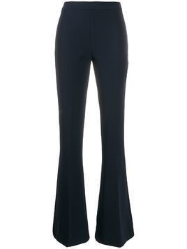 Blanca mid-rise flared trousers - Blue