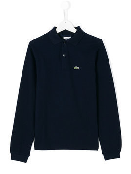 Lacoste Kids classic polo top - Blue
