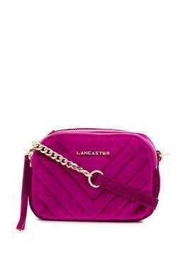Lancaster quilted crossbody bag - Purple