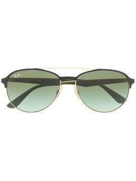 Ray-Ban round frame sunglasses - Green