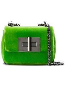 Tom Ford Natalia velvet crossbody bag - Green