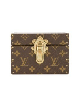 Louis Vuitton Vintage Monogram trunk jewelry case - Brown