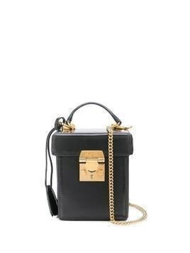 Mark Cross Grace Cube box bag - Black