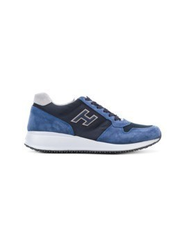 Hogan panel design sneakers - Blue