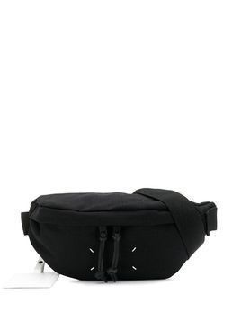 Maison Margiela stitching detail belt bag - Black