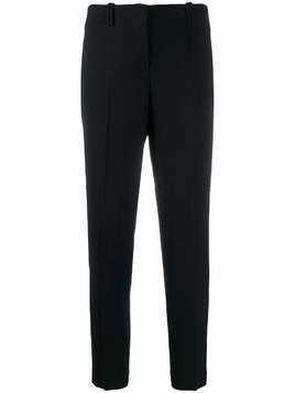 Incotex straight-leg tailored trousers - Black