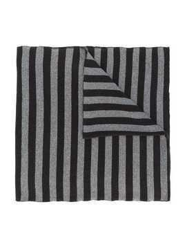 Caffe' D'orzo striped scarf - Brown