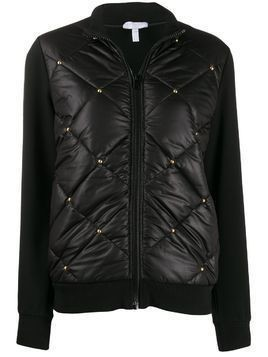 Escada Sport studded quilted jacket - Black