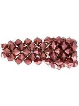 Dalood beaded hair clip - Red
