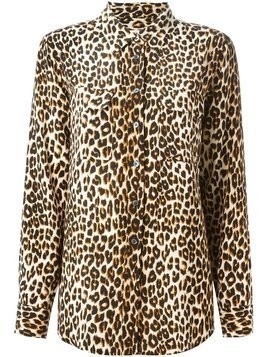 Equipment leopard print shirt - Nude & Neutrals