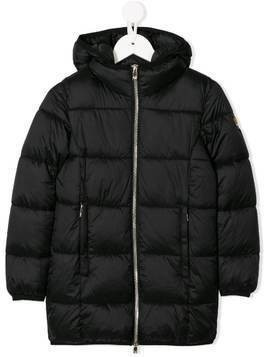 Ciesse Piumini Junior Sofia hooded padded coat - Black