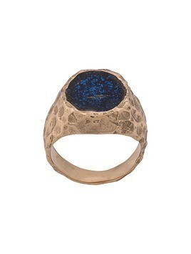 Voodoo Jewels dented ring - Blue